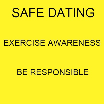 Safe dating tip